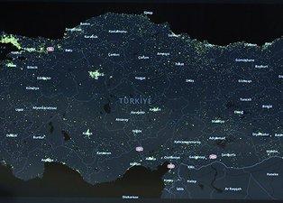 Ankara'nın ilçe ilçe koronavirüs haritası belli oldu!