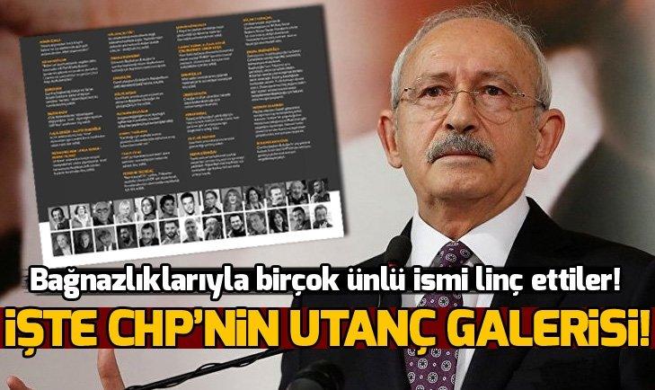 İŞTE CHP'NİN LİNÇ KÜLTÜRÜ!