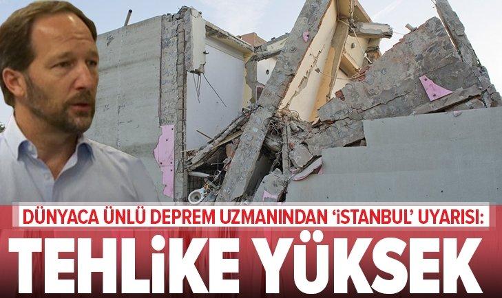 ALMAN SİSMOLOGDAN İSTANBUL'A DEPREM UYARISI