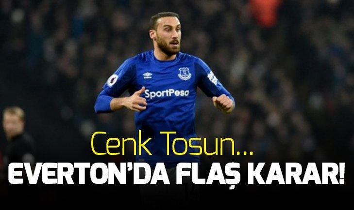 EVERTON'DA FLAŞ KARAR! CENK TOSUN...