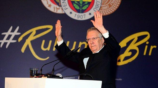 Fenerbahçe Başkanı Aziz Yıldırım'dan açıklama