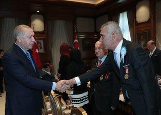 Başkan Recep Tayyip Erdoğan gazileri kabul etti!