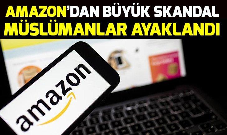 AMAZON'DAN ARAPÇA AYET VE ALLAH YAZILI PASPAS SKANDALI!
