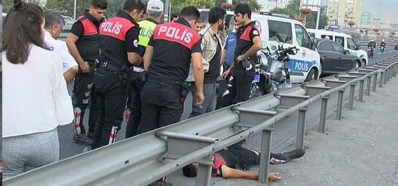 E-5'TE FECİ KAZA! YARALI POLİSLER VAR...