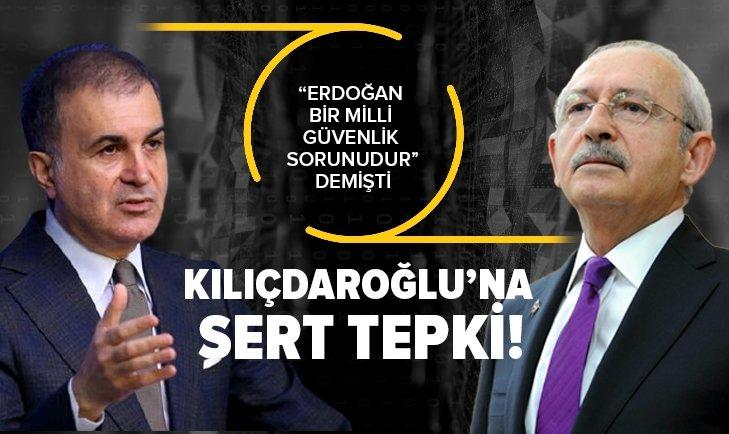"""AK Parti Sözcüsü Çelik'ten """"Kılıçdaroğlu'na sert tepki"""