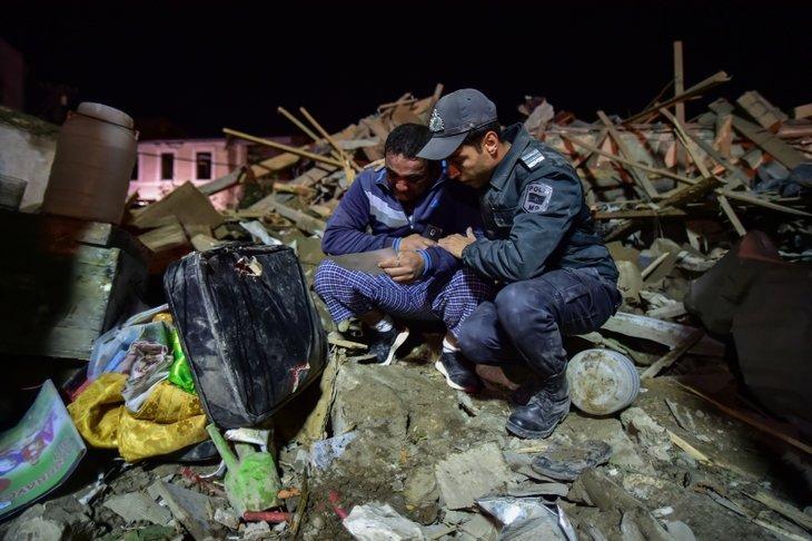Ermenistan'ın sivillere saldırısını uluslararası haber ajansları görmedi