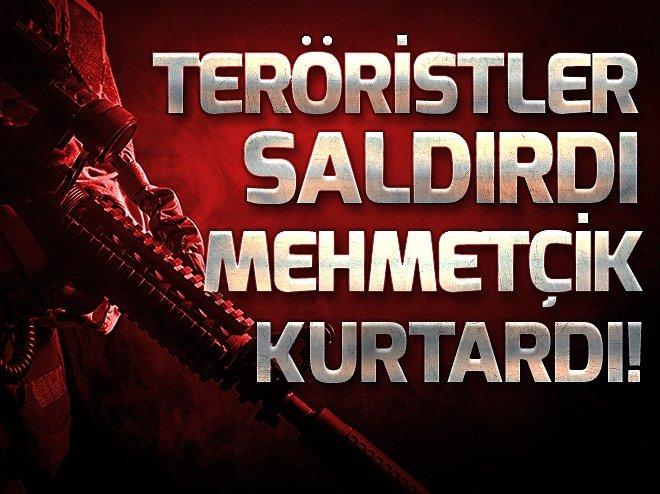 AFRİN'DE TERÖRİSTLER SALDIRDI TÜRK ASKERİ KURTARDI
