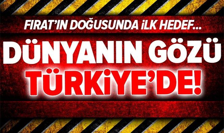 Dünyanın gözü Türkiye'de! İlk hedef...