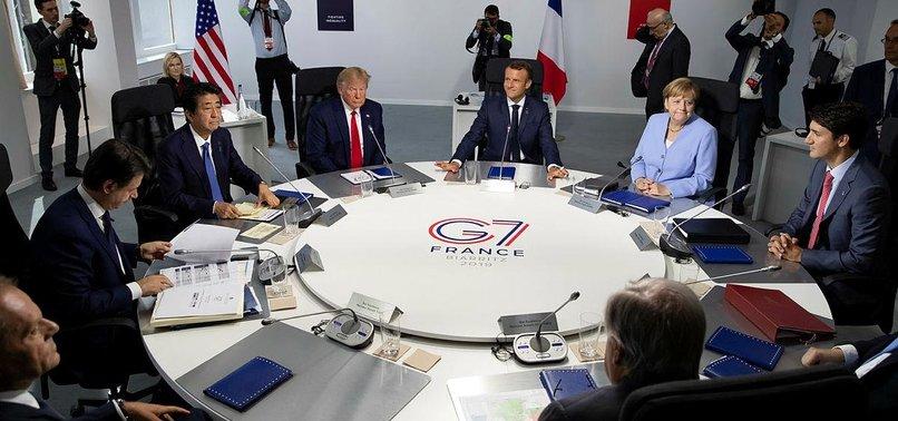 G7 ZİRVESİ SONUÇ BİLDİRGESİ AÇIKLANDI