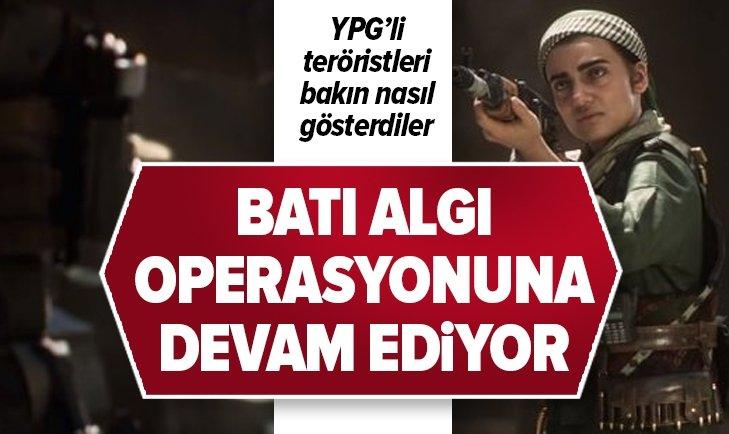 YPG'Lİ TERÖRİSTLERİ BAKIN NASIL GÖSTERDİLER!