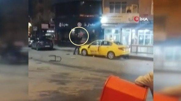 Eski çalıştığı durağın taksisini parçaladı!