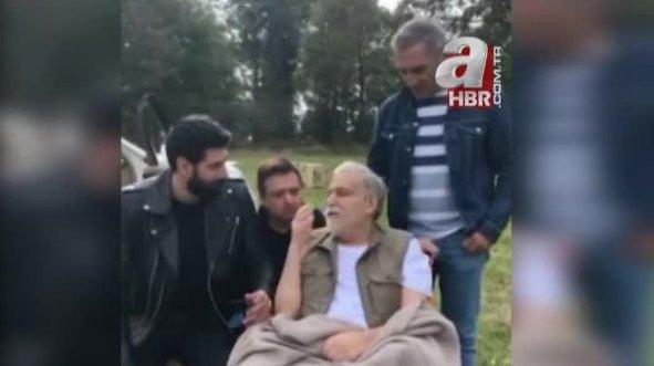 Mehmet Ali Erbil setlere döndü! İşte ilk görüntüler