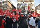 Şırnak'ta HDP'li grup PKK'ya tepki için eylem yapan terör mağduru anneleri taşladı