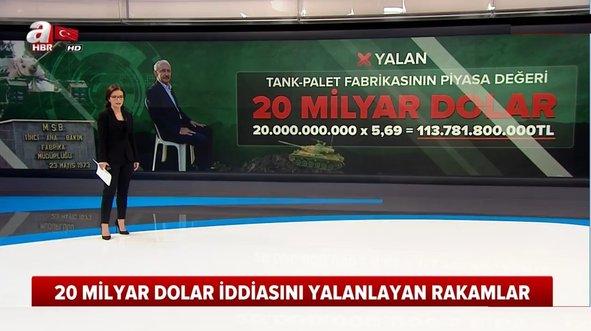 Kılıçdaroğlu'ndan '20 milyar dolarlık' yalan!