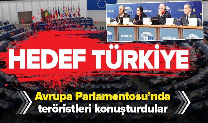 AVRUPA PARLAMENTOSU PKK'LI TERÖRİSTLERİ AĞIRLADI