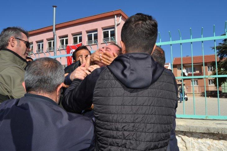 Kılıçdaroğlu'na şehit yakınlarından protesto