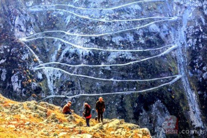 Yapımı 132 yıl sürdü! İşte Türkiye'nin en tehlikeli yolları!