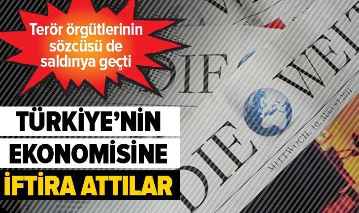 Alman gazetesi Die Welt Türkiye ekonomisine saldırdı