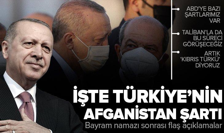Son dakika   Bayram namazı sonrası Başkan Erdoğan'dan önemli açıklamalar