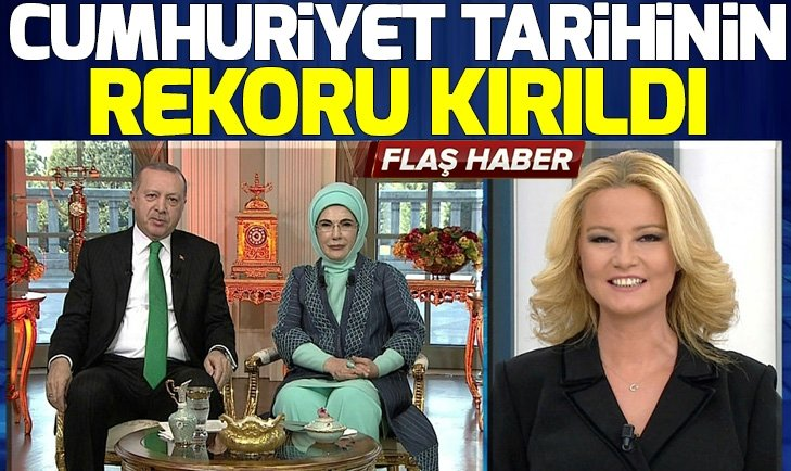 ERDOĞAN'DAN ''OKUMA-YAZMA SEFERBERLİĞİ'' TEŞEKKÜRÜ!