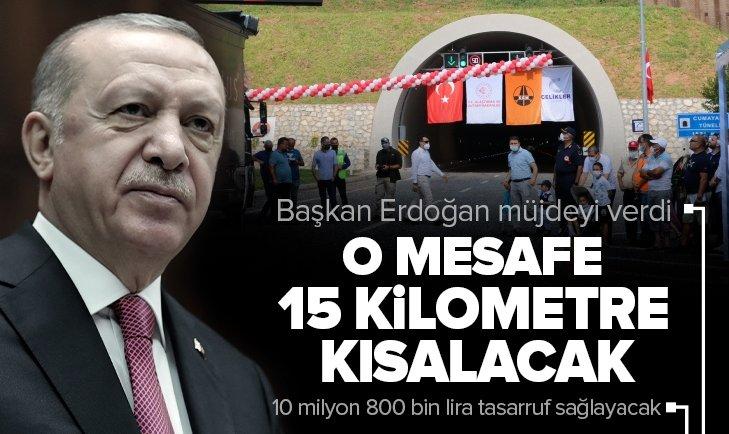 Son dakika: Başkan Erdoğan'dan Bartın-Kurucaşile Yolu Açılış Töreni'nde önemli açıklamalar
