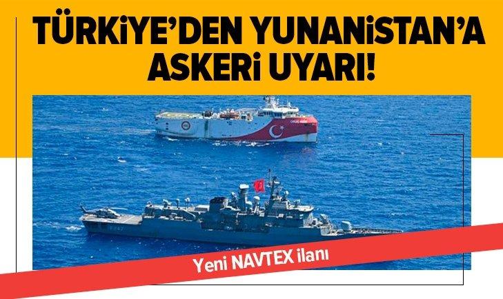 Türkiye'den Atina'ya Ege uyarısı