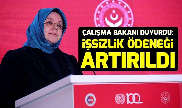 Çalışma Bakanı Selçuk'tan işsizlik ödeneği açıklaması