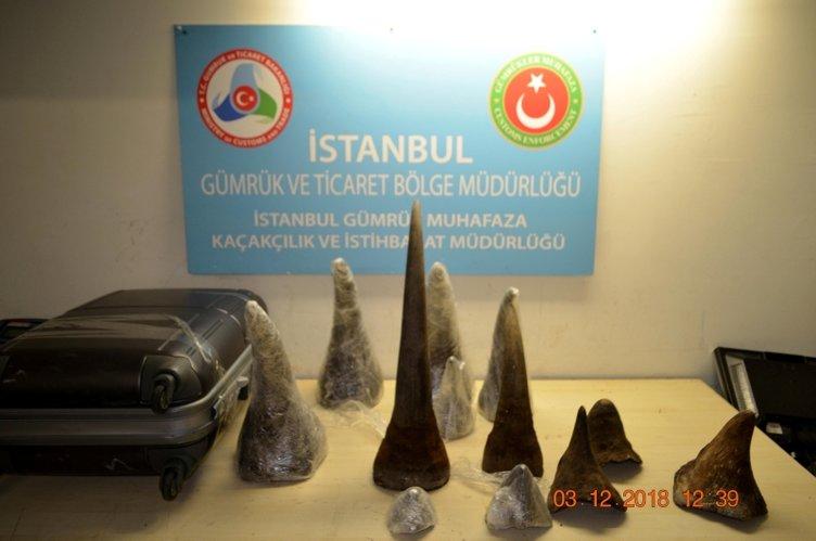 ATATÜRK HAVALİMANI'NDA ELE GEÇİRİLDİ!