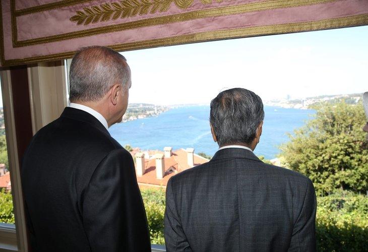 Başkan Erdoğan, Mahathir ile kahvaltıda buluştu