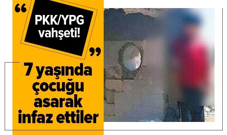 PKK/YPG çocukları infaz ediyor!