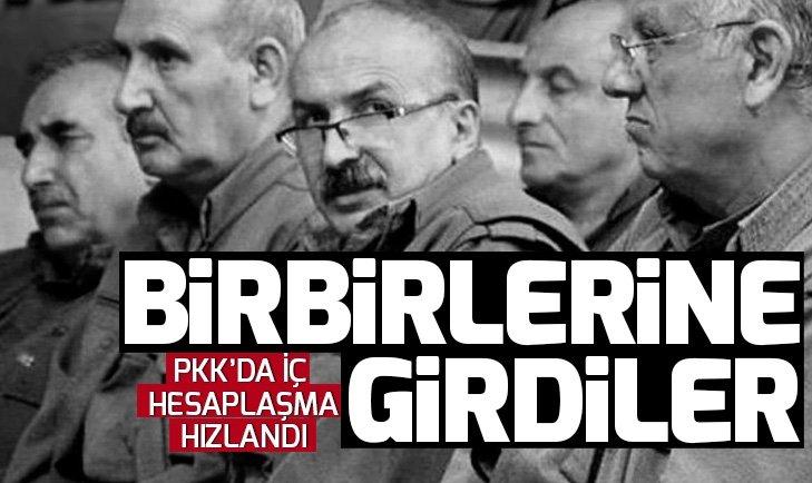 TERÖR ÖRGÜTÜ PKK'DA İÇ HESAPLAŞMA HIZLANDI