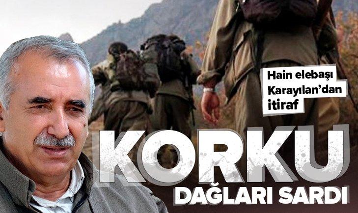 Terör elebaşı Murat Karayılan'dan itiraf! İyice köşeye sıkıştılar