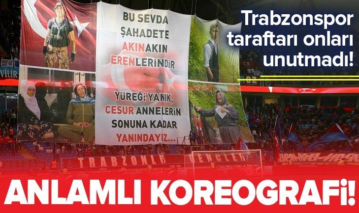 TRABZONSPOR TARAFTARI VATAN İÇİN CAN VERENLERİ UNUTMADI!