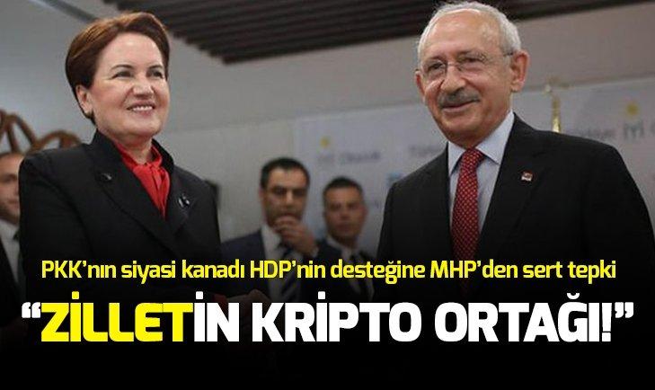 MHP'den HDP'li zillet ittifakı açıklaması: Şaşırtmadı!