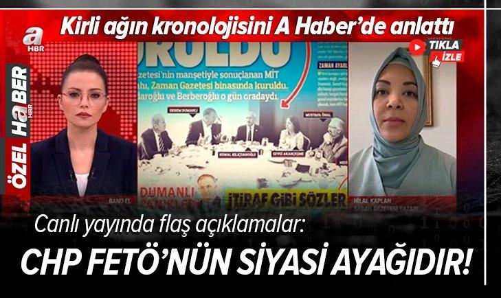 CHP FETÖ'nün siyasi ayağıdır