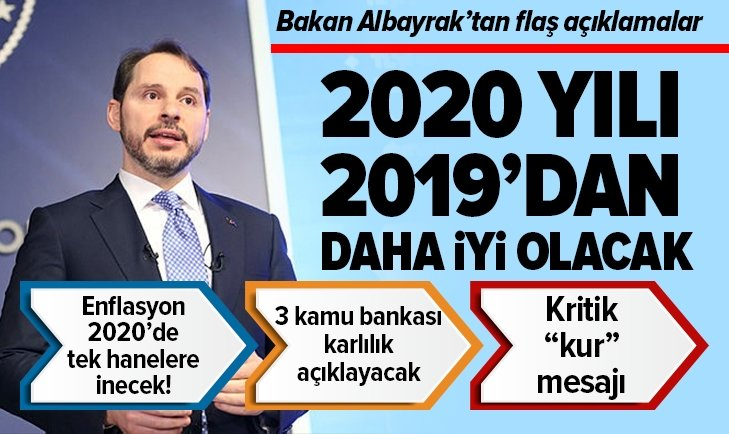 BAKAN ALBAYRAK'TAN FLAŞ AÇIKLAMALAR