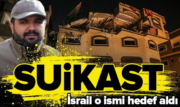 İSRAİL'DEN EBU'L ATA'YA SUİKAST!