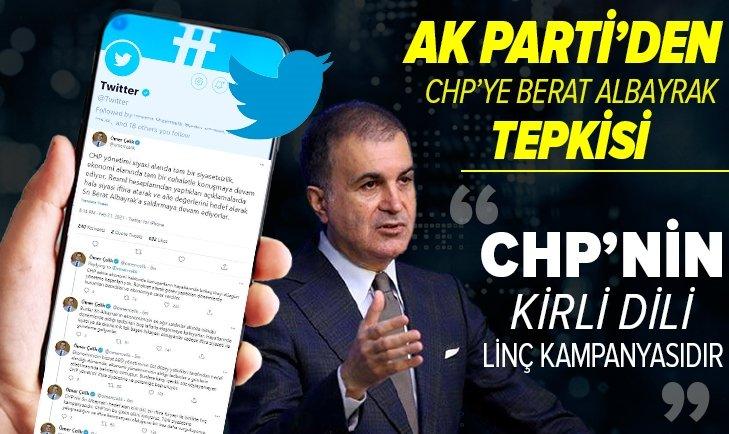 AK Parti'den CHP'ye Berat Albayrak tepkisi!