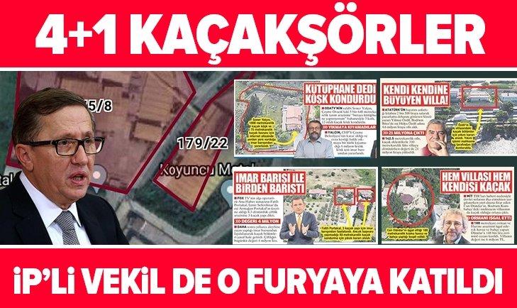 İYİ Parti Grup Başkanvekili Lütfü Türkkan devlet arazisine çöktü! Fabrika mühürlendi, yıkılacak