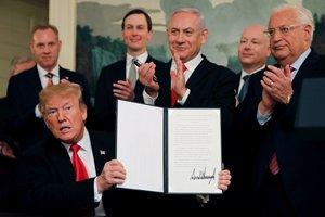 ABD'den tarihi skandal! İsrail işgalini resmen tanıdılar