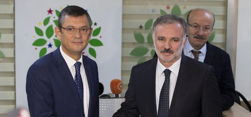 CHP'Lİ ÖZEL'DEN HDP İTİRAFI: HEMEN HEMEN BÜTÜN KAYGILARIMIZ ORTAK!
