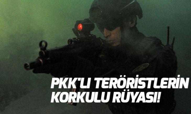 PKK'LI TERÖRİSTLERİN KORKULU RÜYASI!