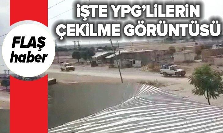 YPG RESULAYN'DAN KIZILHAÇ AMBULANSLARI İLE KAÇIYOR