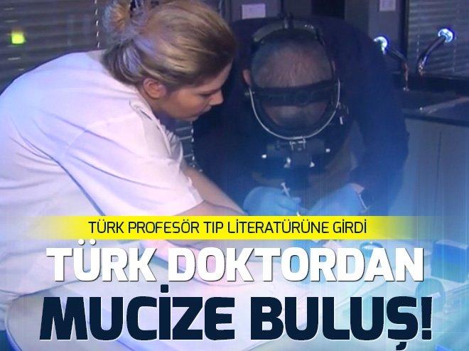 TÜRK DOKTORDAN MUCİZE BULUŞ!