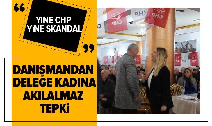 CHP KONGRESİNDE YİNE BİR SKANDAL!