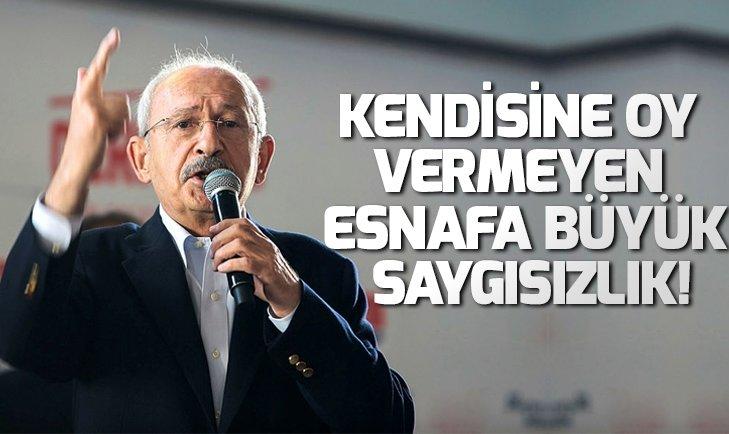 Kemal Kılıçdaroğlu Antalya'da esnafı azarladı