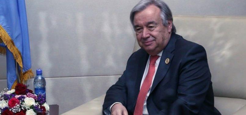 BM GENEL SEKRETERİ TÜRKİYE'YE GELİYOR