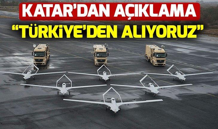 KATAR TÜRKİYE'DEN BAYRAKTAR TB2 ALACAK