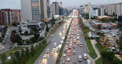 Hafta sonu öncesi İstanbul'da trafik yoğunluğu: Yüzde 74'e ulaştı