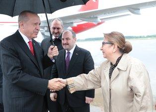 Başkan Erdoğan Samsun'da halka seslendi